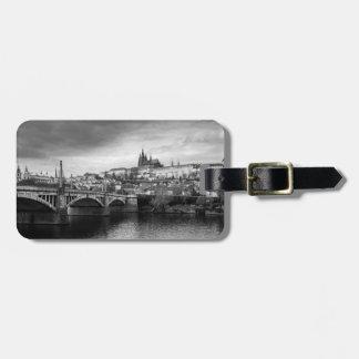 Prague Castle Luggage Tag