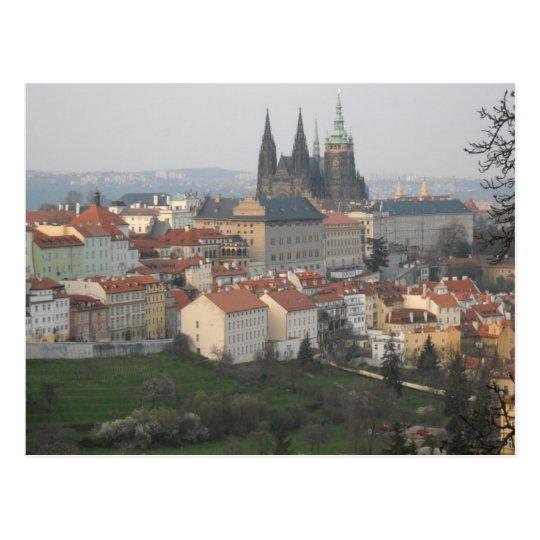 Prague Castle Postcard