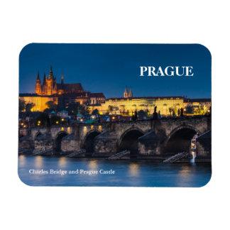 Prague Castle Rectangular Photo Magnet
