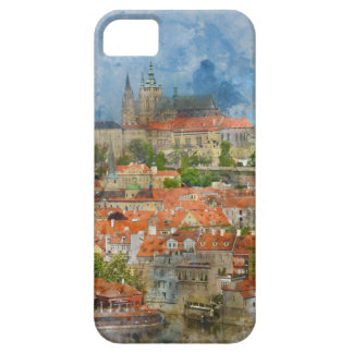 Prague Castle with famous Charles Bridge in Czech Case For The iPhone 5