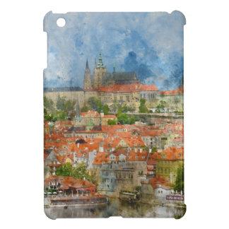 Prague Castle with famous Charles Bridge in Czech iPad Mini Case
