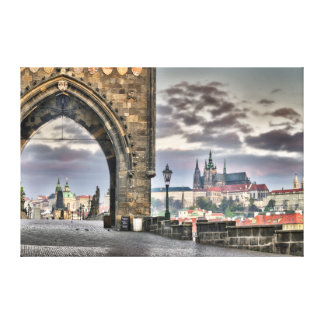 Prague Charles Bridge, St.Vitus Cathedral Canvas