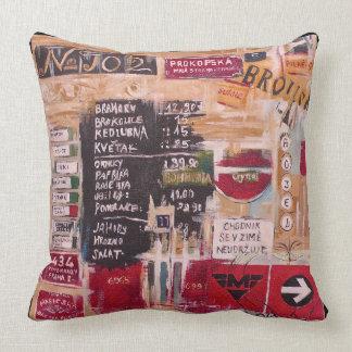 Prague - City of  Culture Throw Pillow