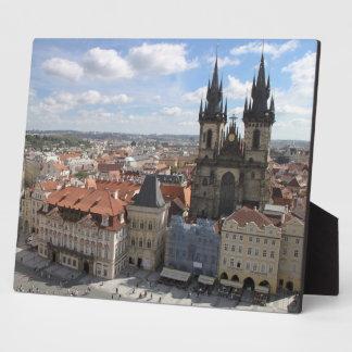 Prague city Plaque