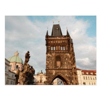 Prague, Czech Photo Postcard