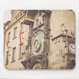 Prague, Czech Republic astronomical clock Mouse Pad