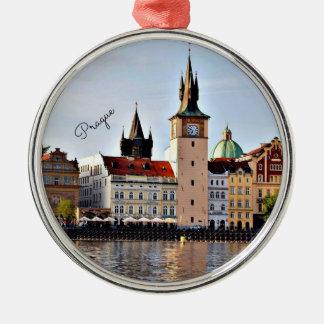 Prague, Czech Republic,  cityscape Metal Ornament