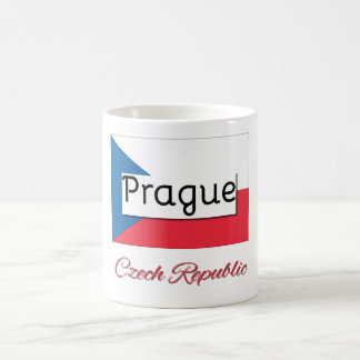 Prague Czech Republic Flag Mug