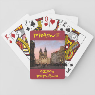 Prague Czech Republic Playing Cards