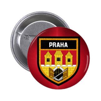 Prague  Flag 2 Inch Round Button