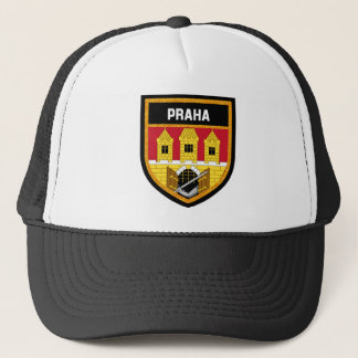 Prague  Flag Trucker Hat