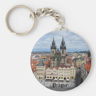 Prague Keychain