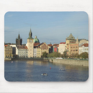 Prague Mousepad Water Scene