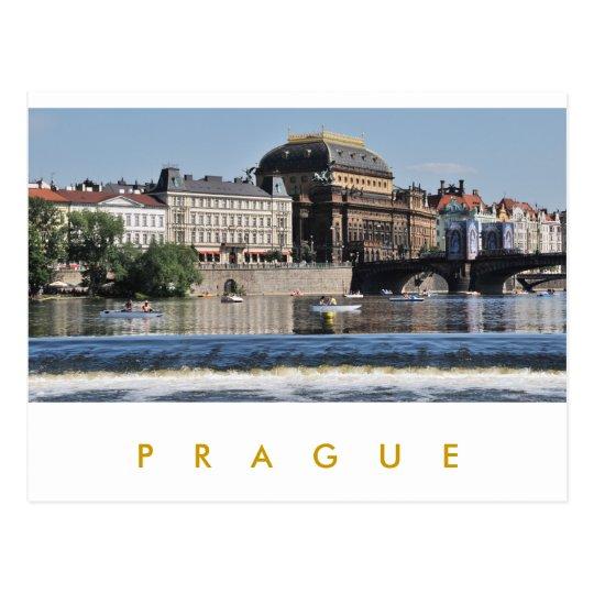 Prague – National Theatre Postcard
