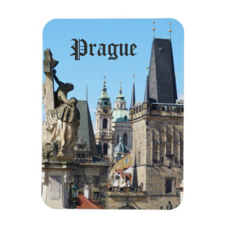 Prague, Old Town Square, Rooftops Magnet