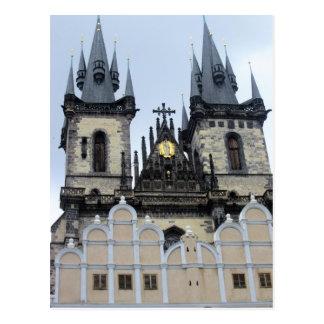 Prague Postcard