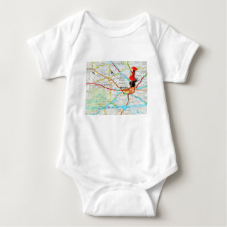Prague, Praha in Czech Republic Baby Bodysuit