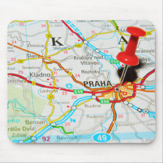 Prague, Praha in Czech Republic Mouse Pad