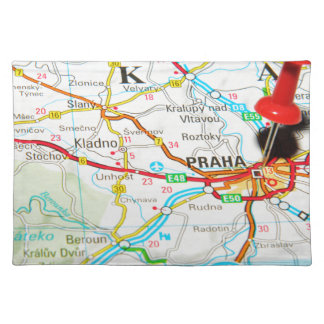 Prague, Praha in Czech Republic Placemat