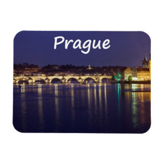 Prague Rectangular Photo Magnet