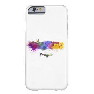 Prague skyline in watercolor barely there iPhone 6 case