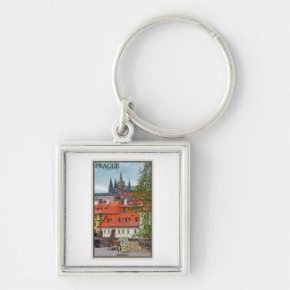 Prague - St Vitus Cathedral Keychain