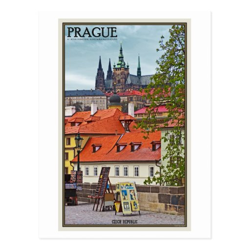 Prague - St Vitus Cathedral Post Cards