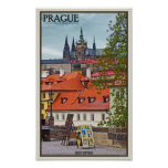 Prague - St Vitus Cathedral Print