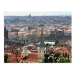 Prague view Postcard