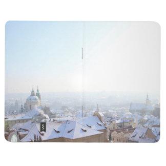 Prague Winter Rooftops Journal