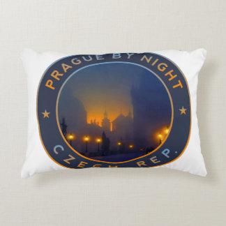 Praha by Night Decorative Pillow