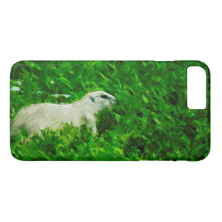 Prairie Dog Abstract Impressionism iPhone 7 Plus Case