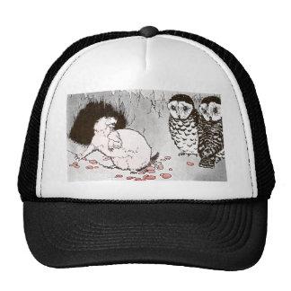 Prairie Dog and Owls in Burrow Trucker Hat