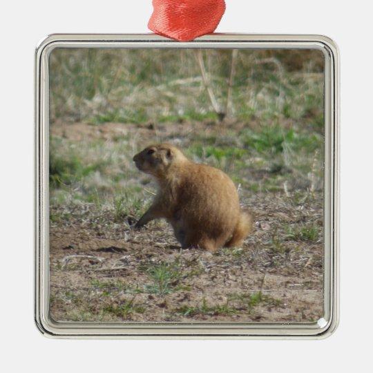 Prairie Dog Christmas Ornament