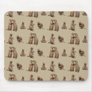 Prairie Dog Frenzy Mousemat (Gold) Mouse Pad