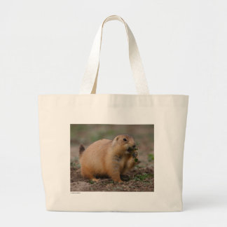 Prairie Dog Large Tote Bag