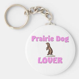 Prairie Dog Lover Keychain