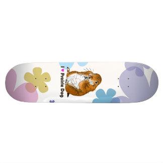 prairie dog which stands skateboard deck