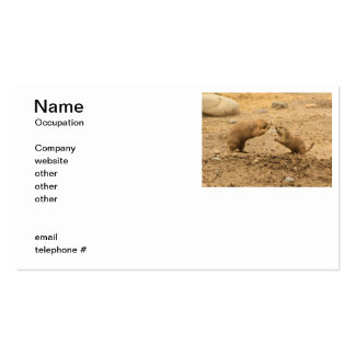 Prairie Dogs Give Me Some Skin Business Card