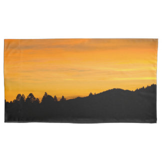 Prairie Hills At Sunset Photograph Pillowcase