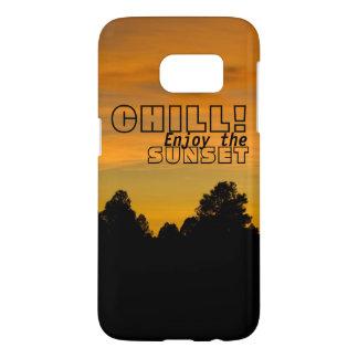 Prairie Hills At Sunset Samsung Galaxy S7 Case