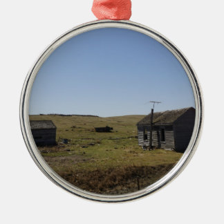 Prairie Homestead, Faded Dreams Metal Ornament