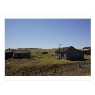 Prairie Homestead, Faded Dreams Postcard