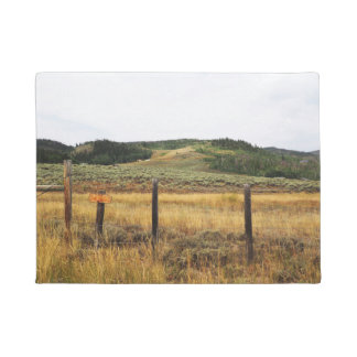 prairie in Colorado Doormat
