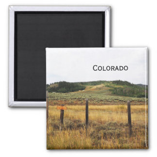 prairie in Colorado Magnet