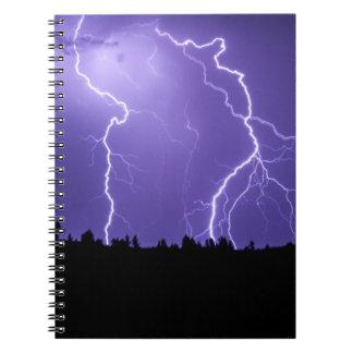 Prairie Lightning Storm Notebook