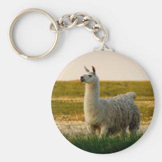 Prairie Llama Mama Keychain
