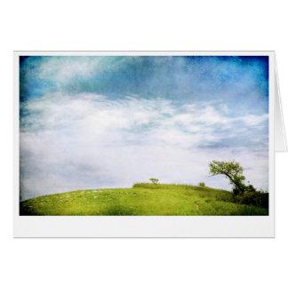 Prairie Sky and Trees Card
