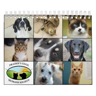 Prairie's Edge Humane Society 2012 Small Calendar