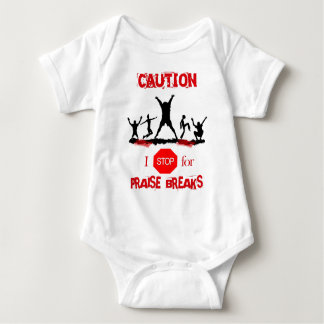 Praise Break (no sign) Baby Bodysuit